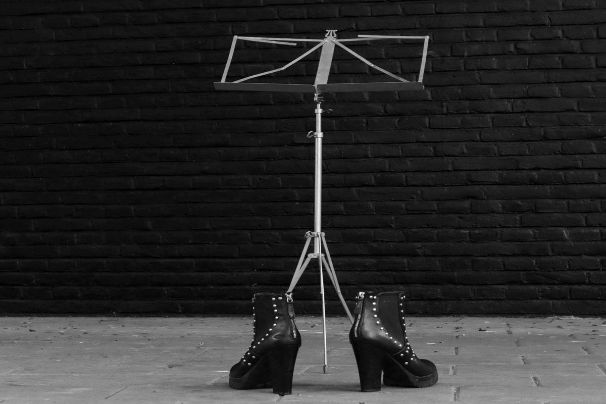 week 30, betty vonk, heavy metal schoenen, music, schoeisel